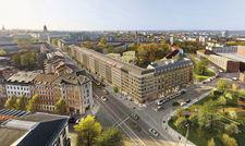 Erstes Rendering: Das Dresdner Indigo aus nordwestlicher Perspektive.