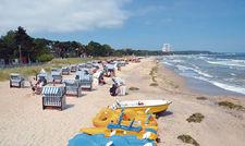 Im Plus: Schleswig-Holstein legte im vorigen Jahr um 20 Prozent zu, im Bild Timmendorfer Strand.