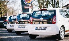 Direkt zum Kunden nach Hause: Bis Jahresende soll aus 200 deutschen Burger-King-Filialen Essen geliefert werden