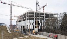"""Noch im Bau: """"Galileo"""" öffnet Anfang 2018."""