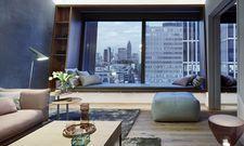 """Stylisch: Die Suite """"Modern Serenity"""" setzt auf klare Formen und Pastelltöne"""