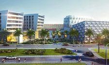 So soll's aussehen: Ein Rendering des geplanten Intercity Hotels in Muscat