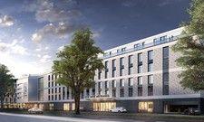 Wird derzeit realisiert: Das Me and All Hotel Düsseldorf-Oberkassel