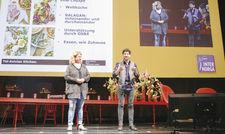Auf der Bühne beim Foodservice-Forum: Haya und Ilan Molcho. Die beiden Gastronomen berichteten über ihr erfolgreiches Neni-Konzept.