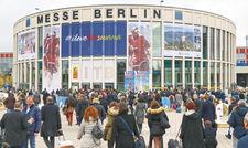 Besucherandrang vor dem Eingang Süd: Nur die Streiks des Bodenpersonals an den Flughäfen Tegel und Schönefeld bremsten die Nachfrage aus.