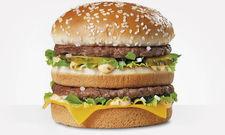 Kommt nach Hause: Burger von McDonald's.