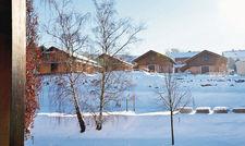 Noch im Bau: Am Diemelsee entstehen rund 33 Ferienhäuser in modern-alpinem Look.