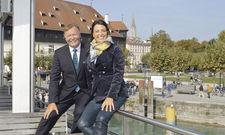 Engagiert: Unternehmer und Hotelier Dieter Wäschle mit seiner Tochter Martina Müller.