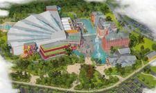 So sieht es aus: Das Wasserpark-Resort direkt neben dem Europa-Park in Rust.