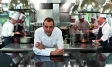 Ganz oben: Daniel Humm in der Küche seines New Yorker Restaurants Eleven Madison Park
