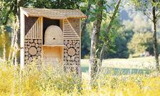 Weitreichende Gastfreundschaft: Manche Lindner-Hotels verfügen auch über ein Insektenhotel.