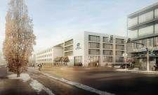 So soll es aussehen: Das Bauprojekt Bahnhofstraße 19 in Biberach.