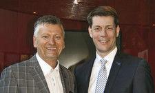 Appellierten an die Branche: Olaf Schöpe (links) und DEHOGA-Präsident Guido Zöllick.