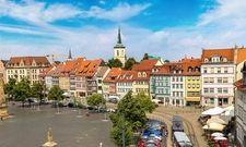 Im Aufwind: Die thüringische Landeshauptstadt Erfurt freut sich über ein Plus an Gästen