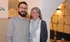 Ernähren sich gern gesund: Küchenchef Serkan Tunca und Inhaberin Sigrid Lutz