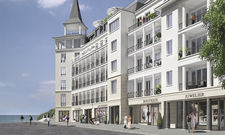 Das First Sellin: Die Apartments und öffentlichen Bereiche finden in fünf Geschossen Platz