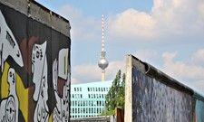 Angesagtes Fotomotiv: Die Berliner Mauer