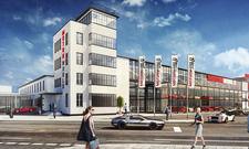 So soll sie aussehen: Die in Köln geplante Motorworld entsteht nach dem Vorbild in der Region Stuttgart