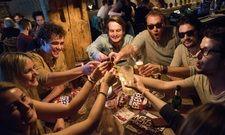 In Feierlaune: Die Gäste des Systemgastronomen Sausalitos