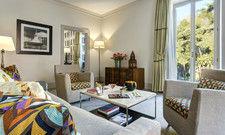 Frische Farben: Eine renovierte Executive Suite im Rocco Forte Hotel de Russie