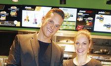 Frisch und fix: Mischa Rugolo und Julia Käser präsentieren ihr Konzept Choozo