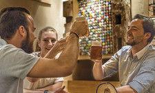 Zum Wohl: Im Bierwerk kommt jeder Biertrinker auf seine Kosten.