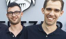 Selbstbewusst: Die beiden jungen Gastrocoachs Nico Schweiger (links) und Tassilo Titz.