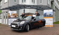 Gut aufgestellt: Das Team vom Pre-Opening-Office des Loginn by Achat in Leipzig, das im Herbst an den Start geht