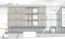 So soll's aussehen: Ein Ausschnitt des Entwurfs für das neue IBB Hotel Eichstätt