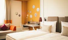 Umgestaltet: Die Zimmer im Vienna House Easy in Amberg