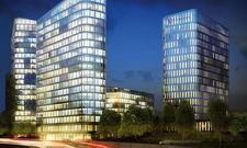 Ein Hingucker: Das Hochhausensemble Bavaria Towers. Das Hotel wird in den rechten Tower einziehen.