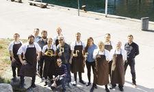 Voller Vorfreude: Das Team des neuen Restaurants Barr in Kopenhagen.