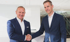 Sind sich einig: Frank Fiskers (links), President & CEO Scandic Hotels und Perttu Puro, CEO of Tradeka & Chairman of the Board of Restel
