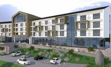 So soll's aussehen: Ein Rendering des künftigen Hotel Edita