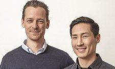 Findige Gründer: Konrad Kaspar Knops (links) und Jin-Woo Bae.