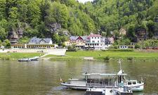 Umgeben von den Bergen der Sächsischen Schweiz: Direkt an der Elbe liegt das Bio und Nationalpark Refugium Schmilka.