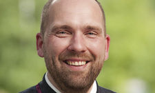 Weinkenner: Florian Stroschke ist seit 2014 in dem Hotel tätig