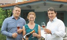 Setzen auf Regionalität: (von links) Hotelier Hendrik Fennel mit seinen Partnern.