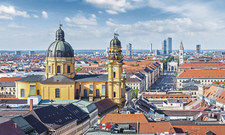 Spitzenreiter München: Auf die Bayernmetropole entfiel in der ersten Jahreshälfte rund ein Viertel des Gesamtumsatzes mit Hotelimmobilien in Deutschland.