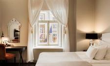 Hell und gemütlich: Die Zimmer im Hotel Telegraaf in Tallin