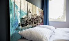Durchgehendes Design: Italienische Motive finden sich auch auf den Zimmern des neuen A&O