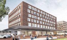 So soll es aussehen: Das geplante Prizeotel Münster City.
