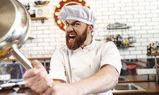 Wut im Bauch: So mancher Gastro-Unternehmer zahlt offenbar Rechnungen für Leistungen, die er nie bestellt hat.
