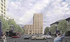 So wird es aussehen: Das Hilton Garden Inn Mannheim.