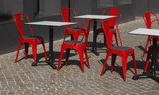 Dafür zahlt der Wirt: Tisch und Stühle auf öffentlichem Grund