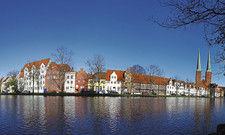 Stadtsilhouette von Lübeck: Die mittelalterliche Stadt hat unter den C-Destinationen 2017 bisher am besten abgeschnitten.
