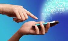 Schnelle Kommunikation: Über We Chat werden massenweise Kurznachrichten versandt