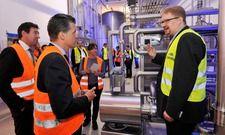 Technologisch an der Spitze: Die neue Biermischanlage der Fürstenberg Brauerei