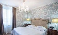 Gelungener Spagat zwischen Tradition und Moderne: Die renovierten Superior-Zimmer im Grandhotel Hessischer Hof.