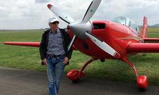 Cooler Pilot: Johann Britsch aus Neu-Ulm/Finningen landete in seiner Extra LP 300 bei den Deutschen Kunstflug-Meisterschaften auf dem zweiten Platz.